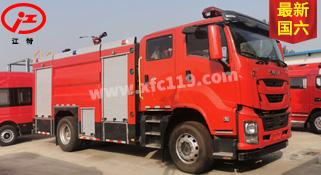 国六五十铃单桥7吨泡沫消防车