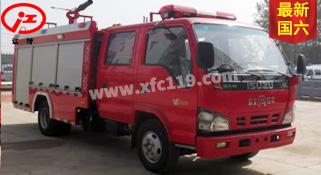 国六五十铃2-3吨泡沫消防车